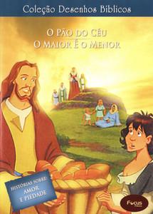 DVD Volume 2 - O pão do céu e O maior é o menor - Coleção Desenhos Bíblicos