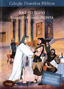 DVD Volume 5 - José do Egito e Samuel, o menino profeta - Coleção Desenhos Bíblicos