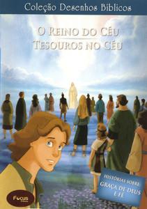 DVD Volume 9 - O Reino do Céu e Tesouros no Céu - Coleção Desenhos Bíblicos