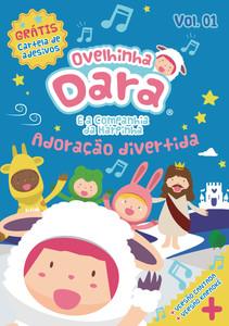 DVD Adoração divertida - Vol 1 - Ovelhinha Dara