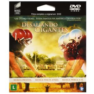 DVD Desafiando os Gigantes - Filme epack