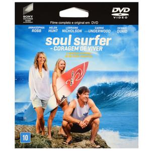 DVD Soul Surfer - Coragem de Viver - Filme ePack