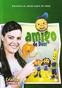 DVD Amigo de Deus - Crianças Diante do Trono