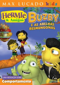 DVD Buzby e as abelhas resmungonas - Hermie & Amigos - Max Lucado Kids