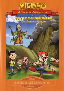 DVD Antigo Testamento - Vol. 11 - Os Dez Mandamentos - Midinho