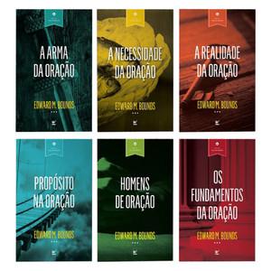 Kit Vida de oração - 6 Livros - Edward M. Bounds