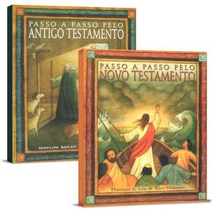Combo Passo a Passo Pelo Antigo e Novo Testamento - 2 Livros