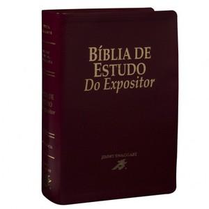 Bíblia de Estudo do Expositor - Jimmy Swaggart (Vinho)