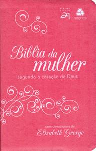Bíblia da Mulher Segundo o Coração De Deus - Pink