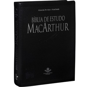 Bíblia de Estudo MacArthur (Preta)