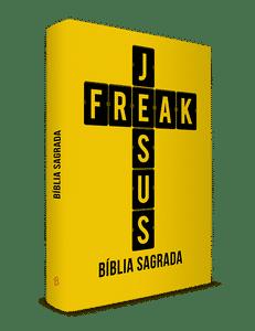Bíblia Jesus Freak - Capa Dura Amarela