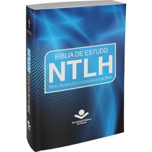 Bíblia de Estudo NTLH - Azul (Brochura)