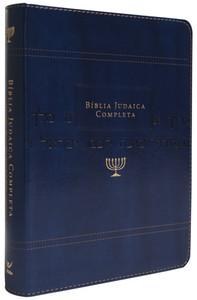 Bíblia Judaica Completa (Luxo Azul)