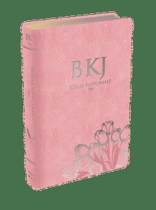 Bíblia King James 1611 (Luxo Rosa)