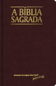 Bíblia Sagrada - Almeida Corrigida Fiel (Vinho)