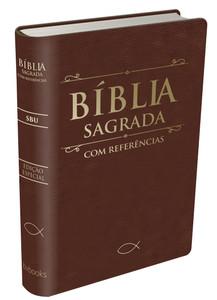 Bíblia Sagrada Com Referências - SBU (Marrom)