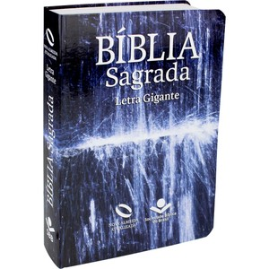 Bíblia Sagrada - NA (Capa Água) Letra Gigante