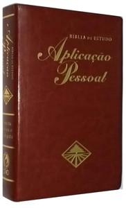 Bíblia de Estudo Aplicação Pessoal Grande (Vinho)