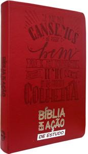 Bíblia em Ação de Estudo (Vermelha)