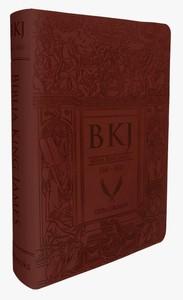 Bíblia King James 1611 (Letra Ultra Gigante - Marrom)