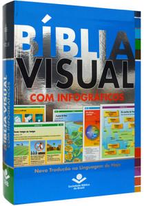 Bíblia Visual Com Infográficos - NTLH - SBB