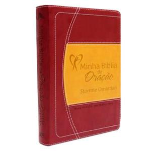 Minha Bíblia de Oração (NVI) - Vinho/Laranja