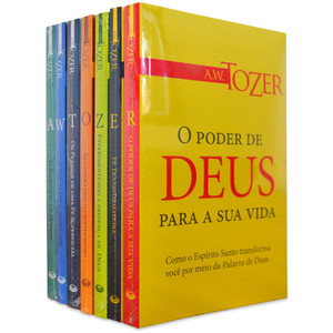 Coleção Completa Vida Cristã - A.W. Tozer (7 Livros)