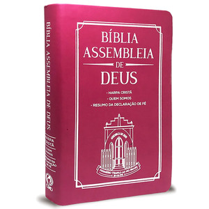 Bíblia Assembleia de Deus - Pink (Capa Igreja)