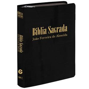 Bíblia de Bolso (Revista e Corrigida | Capa Preta Com Zíper)