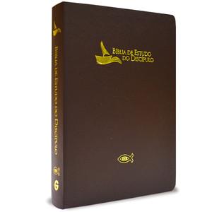 Bíblia de Estudo do Discípulo (Marrom)
