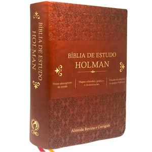 Bíblia de Estudo Holman (Marrom)