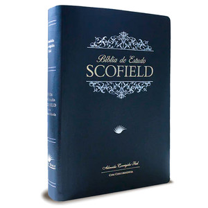 Bíblia de Estudo Scofield - Azul