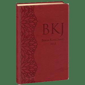 Bíblia King James 1611 - Ultra Fina Gigante (Vinho)