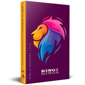 Bíblia King James - Atualizada (Leão Roxa)