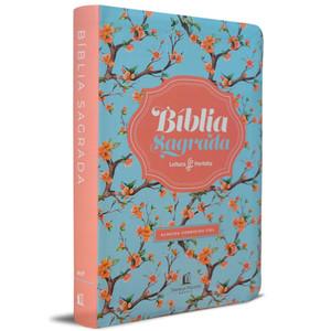 Bíblia Sagrada - Almeida Corrigida Fiel (Floral Luxo)
