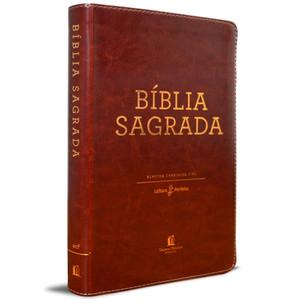 Bíblia Sagrada - Almeida Corrigida Fiel (Marrom Luxo)