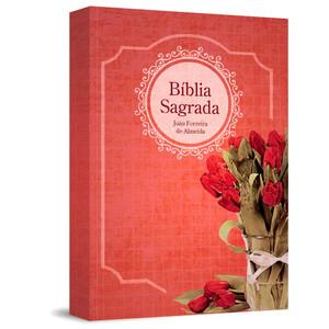 Bíblia Sagrada RC Gigante - Capa Estampada Feminina