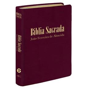 Bíblia Sagrada RC Gigante - Capa Luxo Vinho