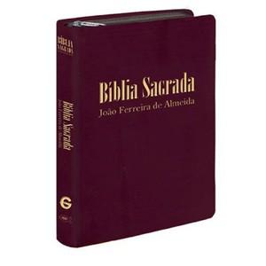 Bíblia Sagrada RC Gigante - Capa Zíper Vinho