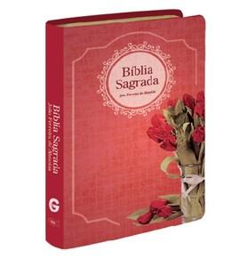 Bíblia de Bolso (Revista e Corrigida | Capa Buquê Rosas)
