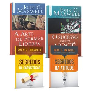 Combo Liderança Cristã - 4 Livros de John C. Maxwell