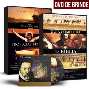 Combo: Guia Completo da Bíblia + Guia Completo das Profecias Bíblicas