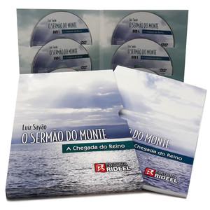 Box - O Sermão do Monte - Livro + 6 DVDS - Luiz Sayão