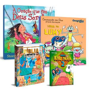 Combo 4 Livros Infantis