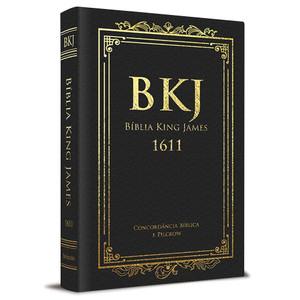 Bíblia King James 1611 Com Concordância (Luxo Preta)