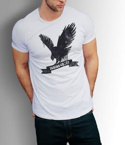 Camiseta Águia - Isaías 40:31 (Branca)
