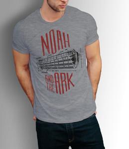 Camiseta Arca de Noé (Cinza)