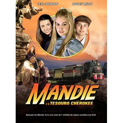 DVD Mandie e o Tesouro Cherokee (Parte 2) - Filme