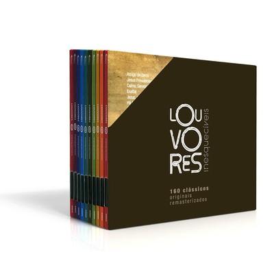 Box Louvores Inesquecíveis - Volume 1 ao 10