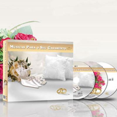 CD Box Músicas para o seu Casamento - 3 CDs
